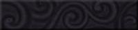 Listello Nouveaux Noir 7*31,5