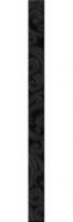 Listello Nouveaux Noir 7*94,9
