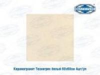 Керамогранит Техногрес белый 59,6х59,6см 4шт/уп