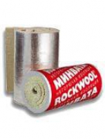 Роквул ТЕХ МАТ фольгированный, (размер 5000х1000х50мм) 5м2, 0.25м3