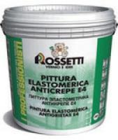 Акриловая краска на водной основе против трещин (Pittura elastomerica anticrepe E4)
