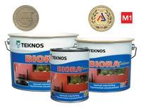 TEKNOS БИОРА БАЛАНС - водоразбавляемая,совершенно матовая высшего класса для стен,высокостойкая к мытью