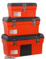 Комплект ящиков для инструмента с металлическими замками Intertool 3 шт (BX-1113 13/BX-1116 16.5/BX-1119 19) (BX-0006)