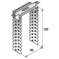 Прямой подвес универсальный 60*125 (0.8мм)(П-образка) .