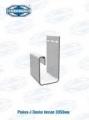 Рейка-J Docke белая 3050мм