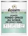 Матовая грунтовка высокой толщины для дерева и стен (Acanto fondo opaco all`acqua)